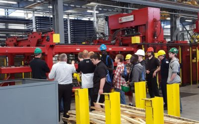 Owen Industries hosts Bellevue West Students for Tour