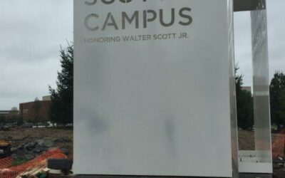 Scott Campus Sign Fabrication