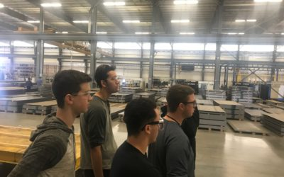 Owen Industries Hosts Westside High School Welding Students