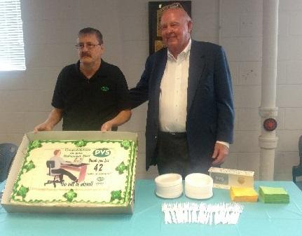 Owen Industries Celebrates Another Retirement!