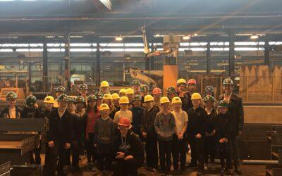 Robotics Class Visits PVS