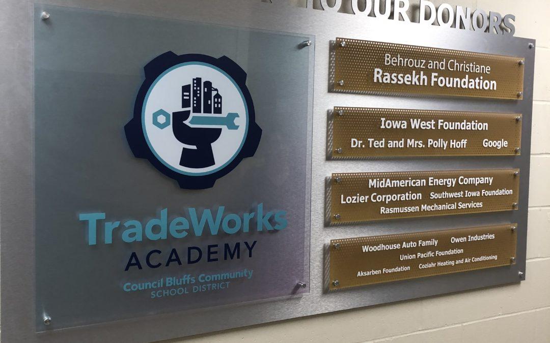 Owen Industries Sponsors The TradeWorks Academy