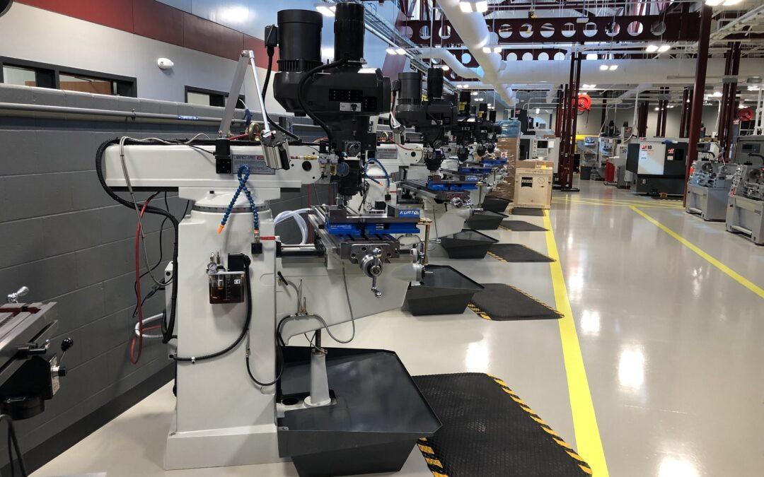 Owen Industries Visits Central Community College
